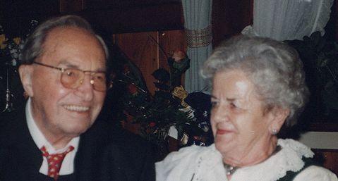 Das Bild zeigt Oskar und Aneliese Bühler