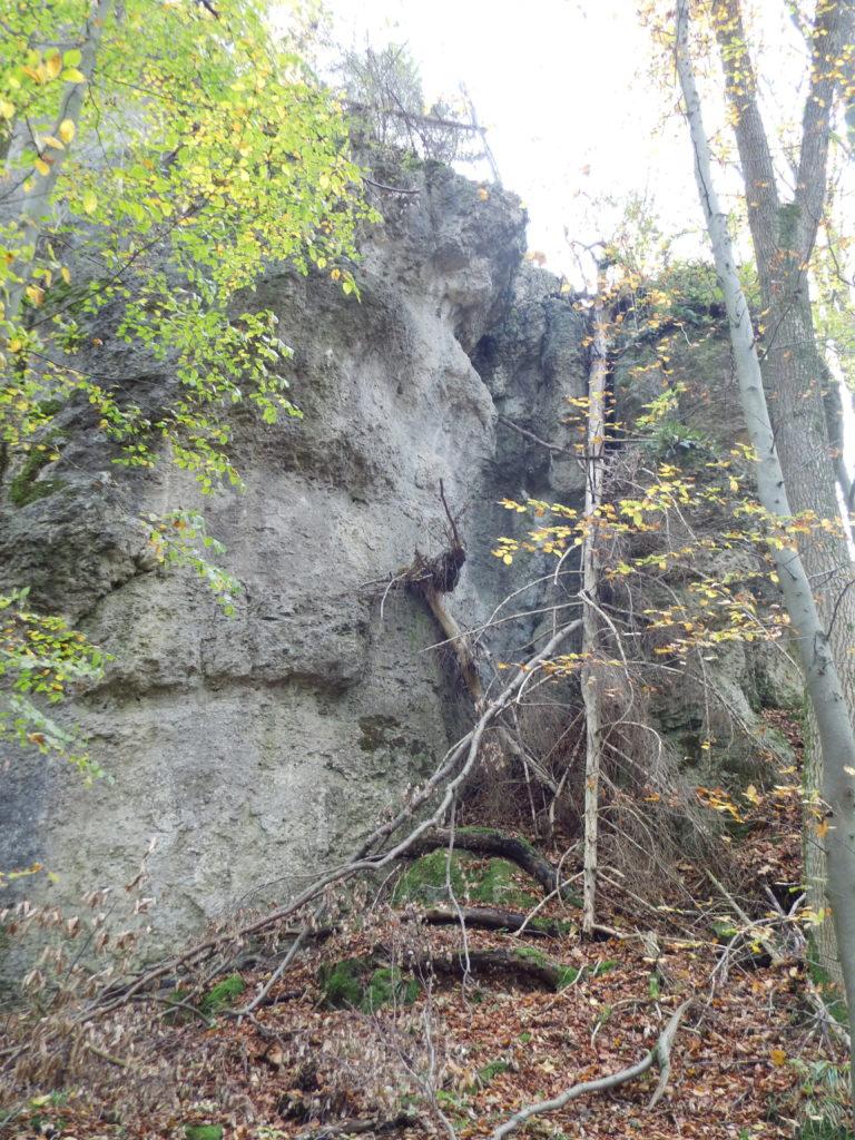 Franken: Sperrung der Erdenkäuferwand