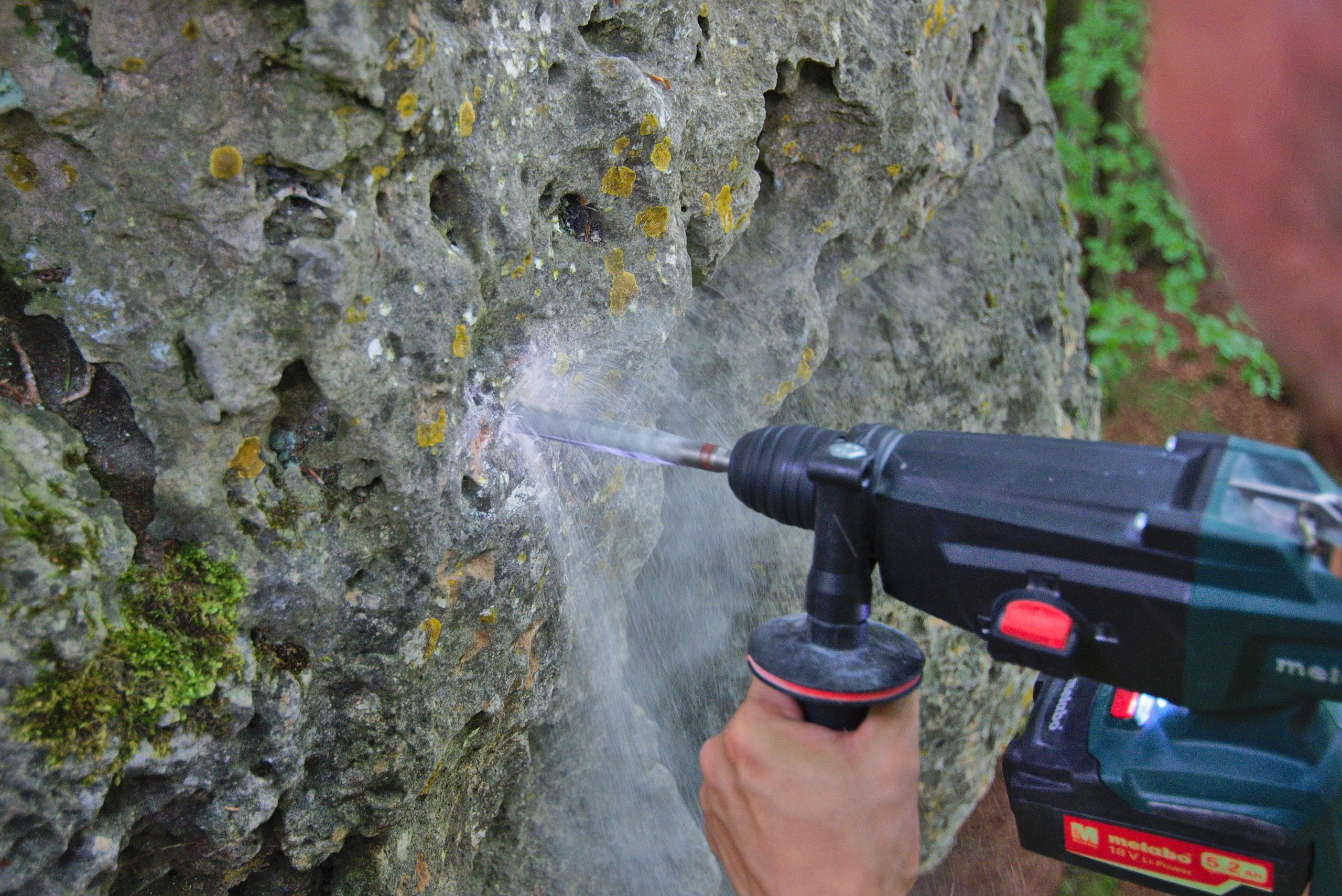Sanierungsmaßnahmen an der Spießer Wand