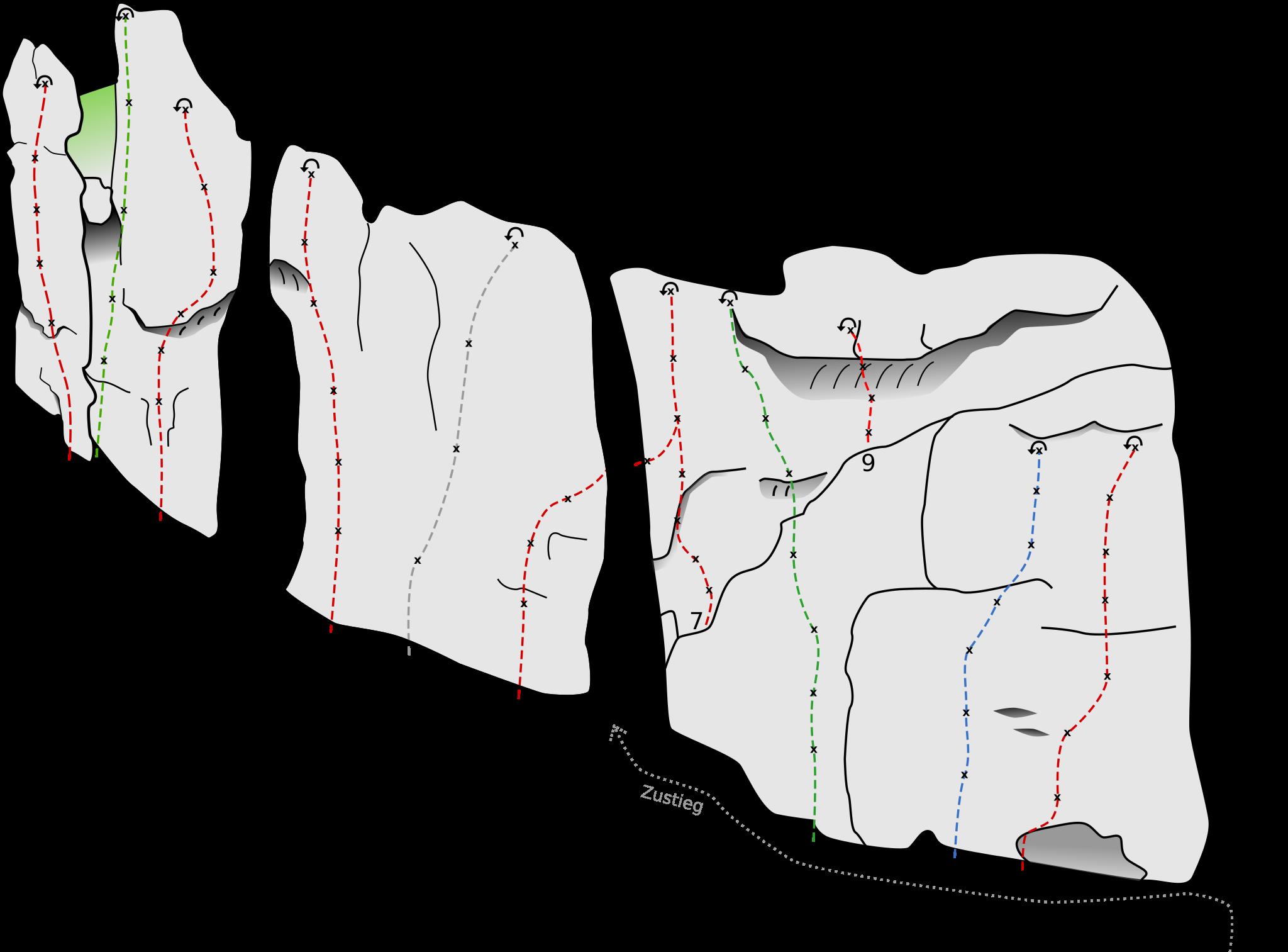 Neuerschließung: Höhlenstein