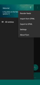 Flym Import
