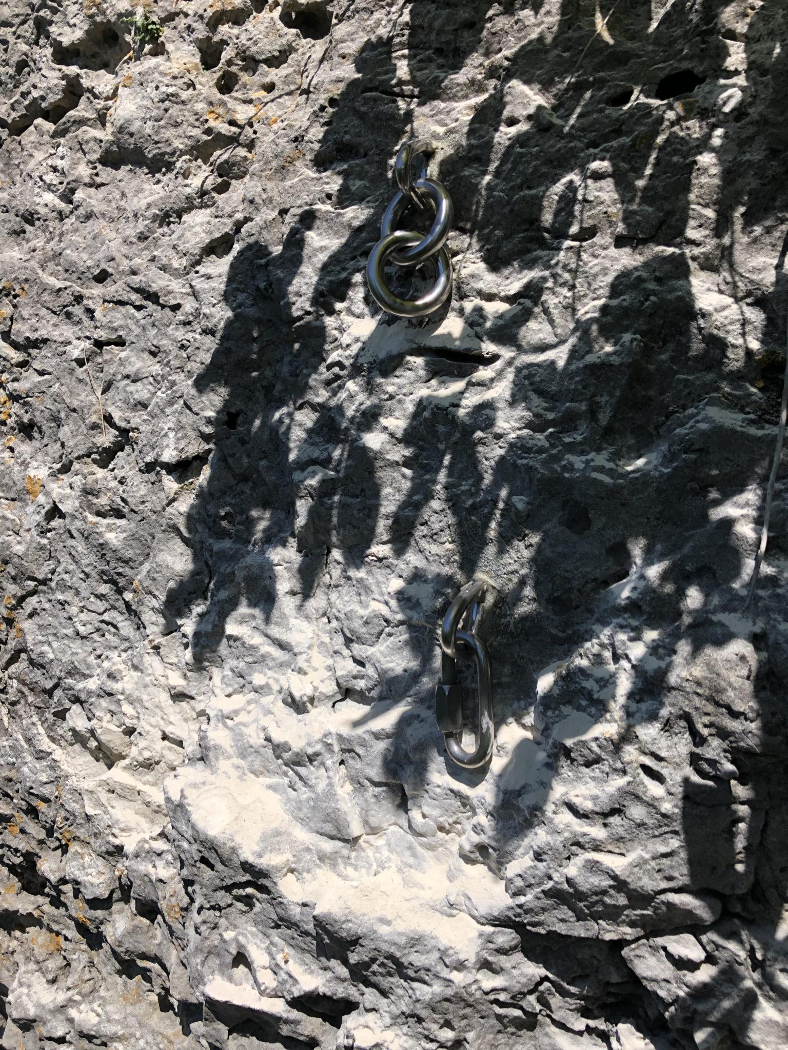 Das Bild zeigt den Umlenker der Route Bürgermeisterin am Balkenstein